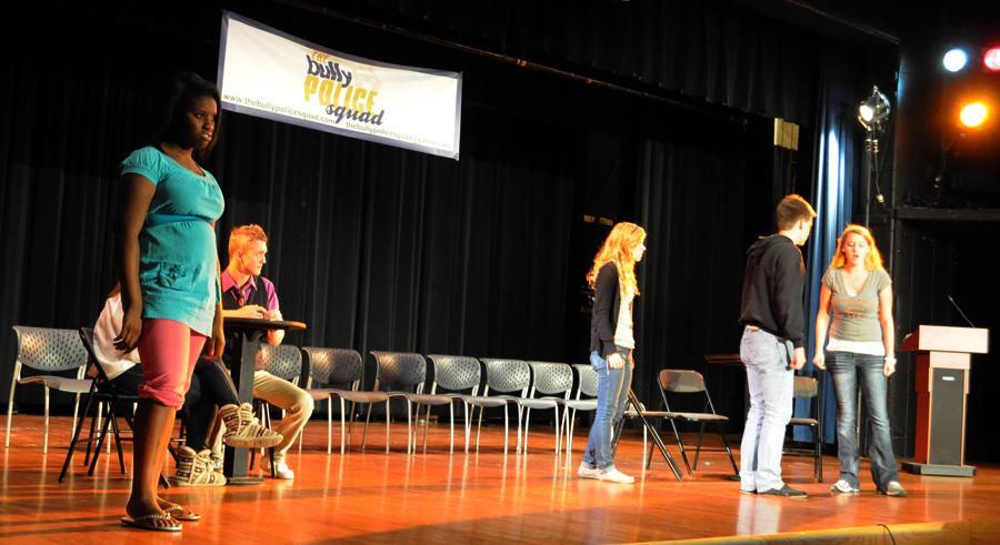Advanced Drama Class Supports Anti-Bullying