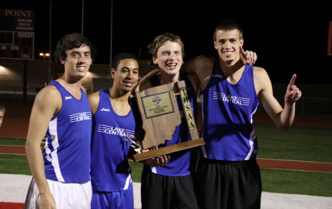 Boys Track Runs with Sectional Win