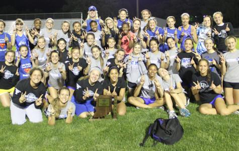 Girls Track Wins Their 21st Consecutive Sectional Title