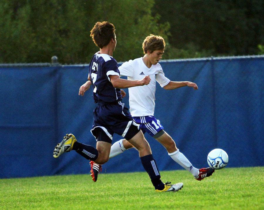 Varsity Boys Soccer Victory Over Michigan City