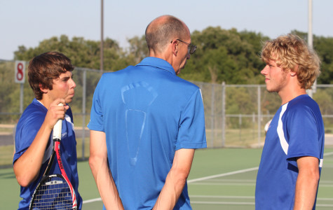 Boys Tennis Defeated by Rival CP
