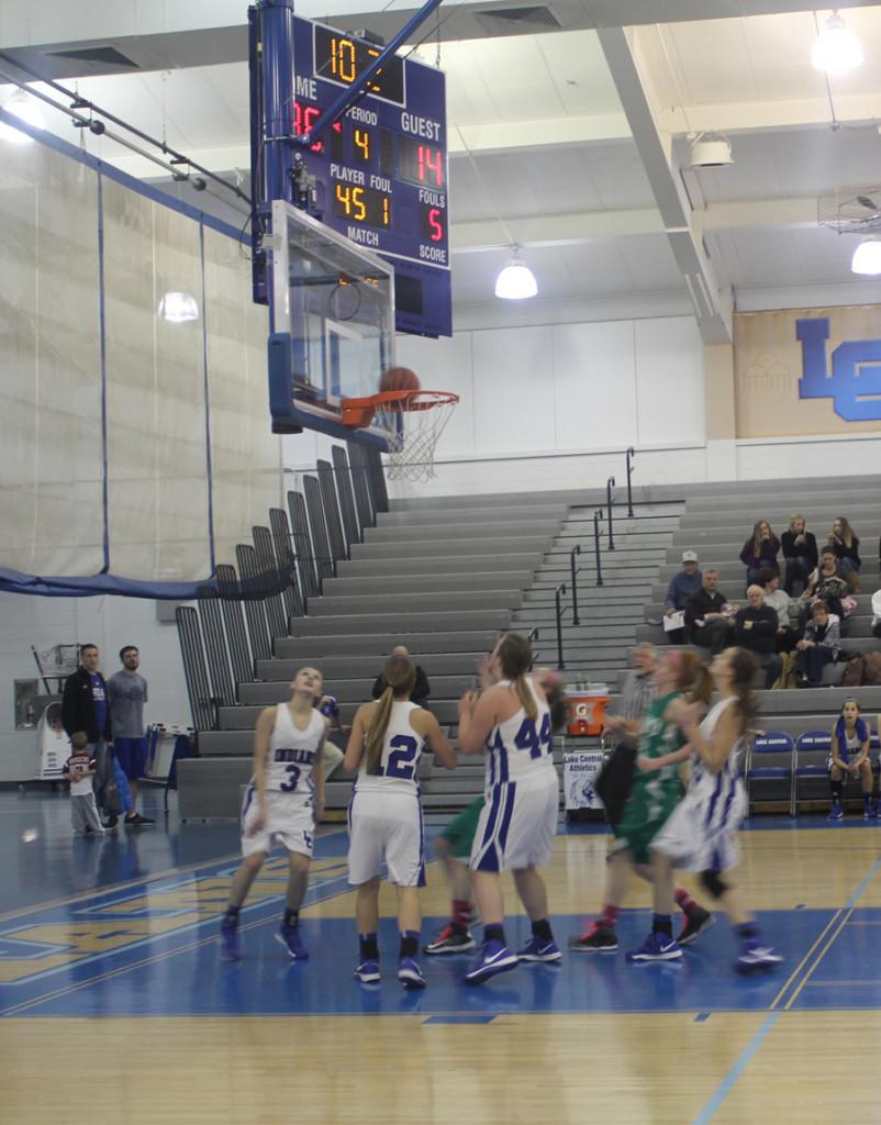 JV Basketball Defeats Valpo