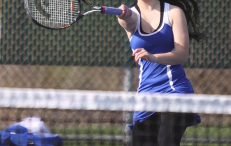 JV Girls Tennis Defeats Munster Mustangs