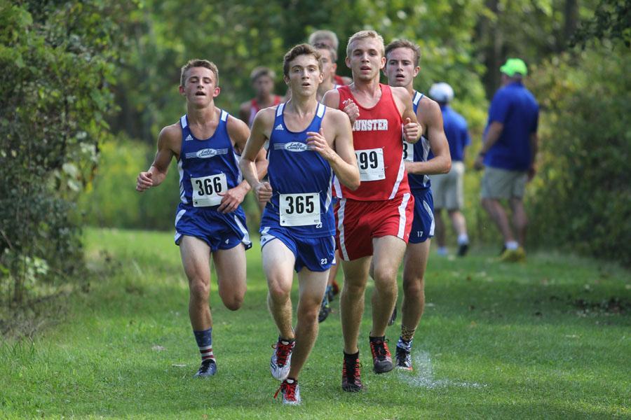Kameron Konopasek (11), Zach Hupp (11), Tyler Kramer-Stephens (11)
