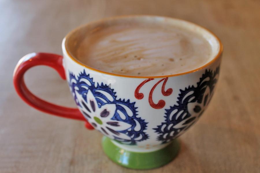 A uniquely delicious blend of coffee, the Almond Joy Latte is enjoyed among many who go to Sip.   There are twelve different types of lattes to choose from the menu, along with other beverages.