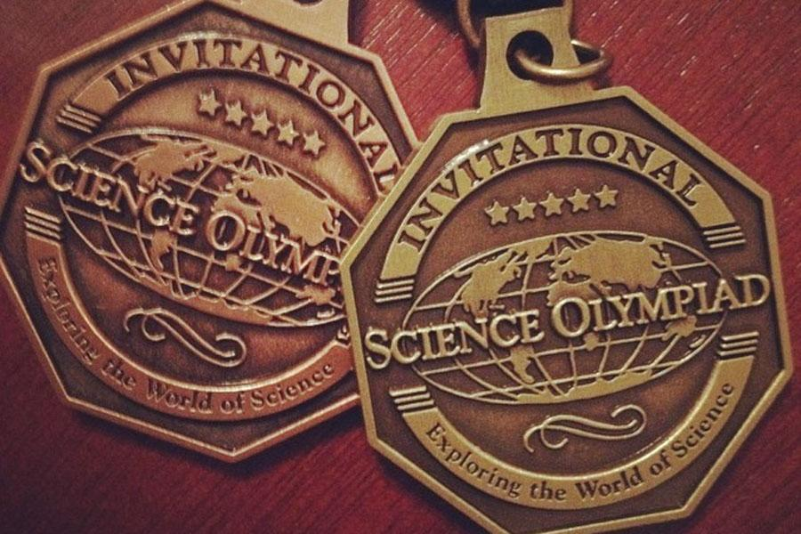 Everyone on the Science Olympiad team brought home a medal from scoring in various events. They showed their pride by posting pictures on social media websites, such as Instagram.