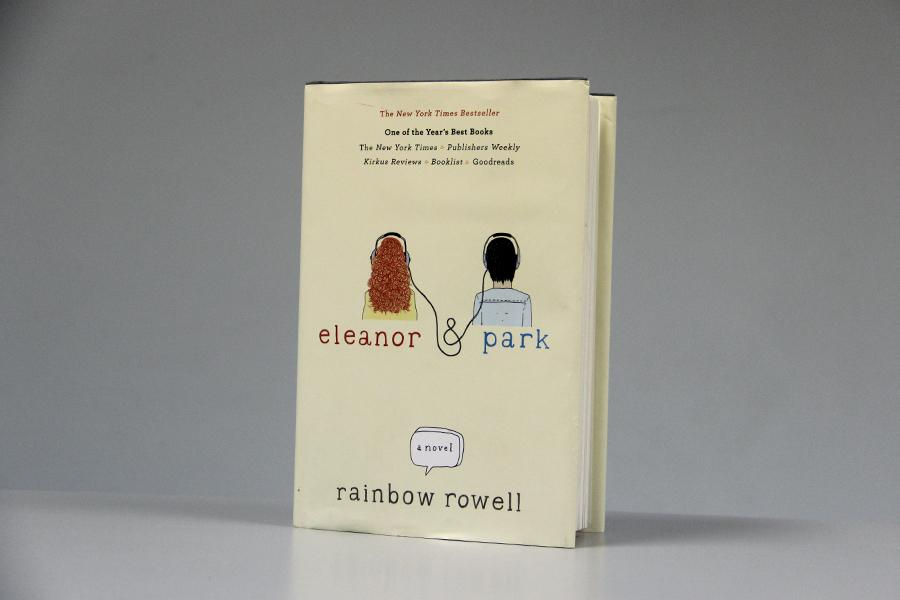 The New York Times Bestseller Eleanor & Park was written by Rainbow Rowell. The design was done by Olga Grlic and the illustration was done by Harriet Russell.