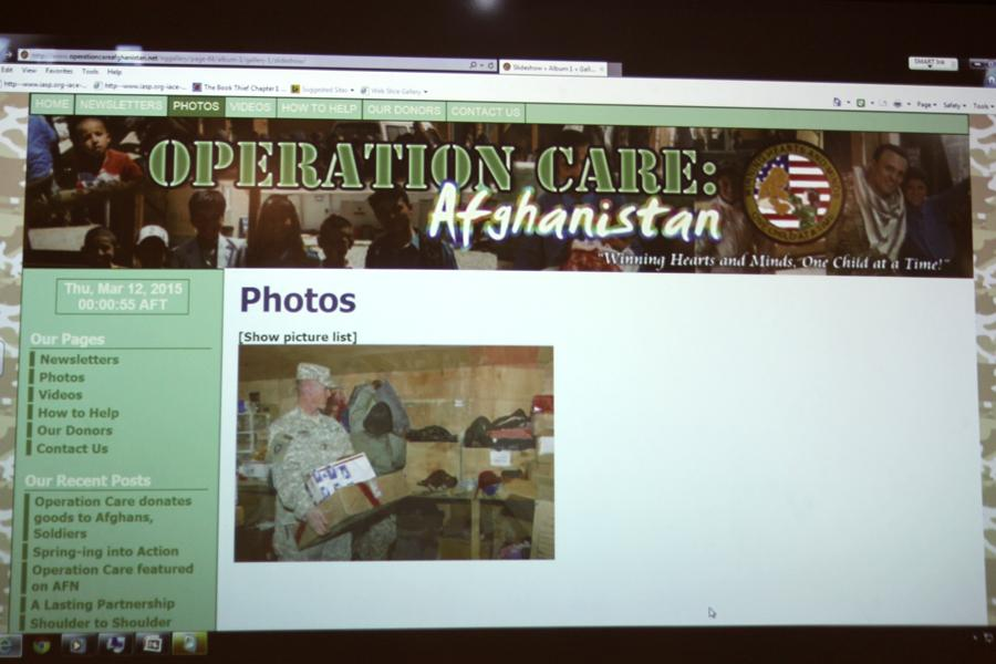 Operation+Care%3A+Afghanistan+is+a+non-+profit+organization+devoted+to+the+welfare+of+people%2C+children+especially%2C+in+Afghanistan.+Interact+club+was+working+to+raise+awareness+and+donate+needed+items+to+Operation+Care.
