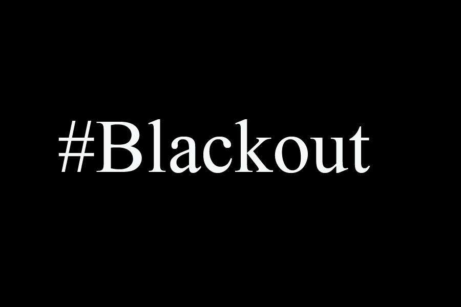 The+hashtag+%23Blackout+represented+black+media+users+and+the+support+of+their+personal+photos+and+videos.++%23Blackout+day+was+Fri.%2C+March+6.