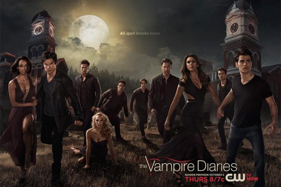 """The Vampire Diaries"" is in its sixth season of the series, but the CW isn't the only place fans can see the actors from the show. Debra Hayes (10) was able to meet some of the cast at a convention for the show in Chicago."
