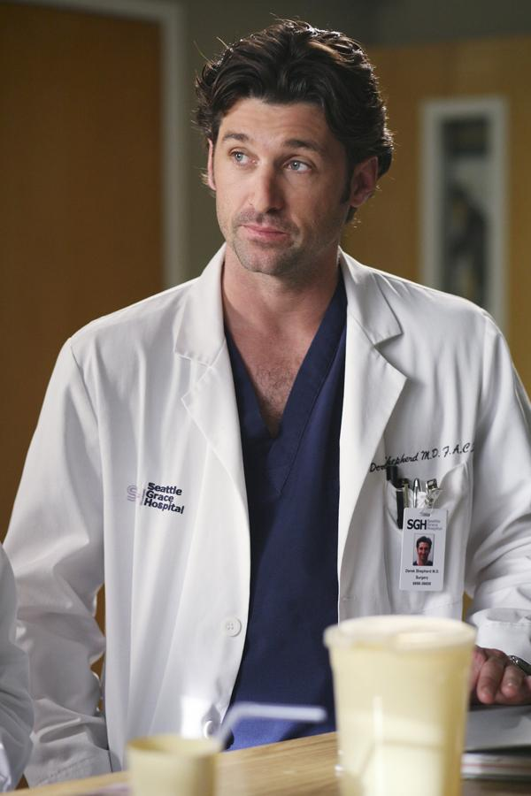 Dr.+Derek+Shepherd%2C+portrayed+by+Patrick+Dempsey%2C+listens+to+a+patient+talk.+%E2%80%9CGrey%E2%80%99s+Anatomy%E2%80%9D+first+premiered+in+2005.