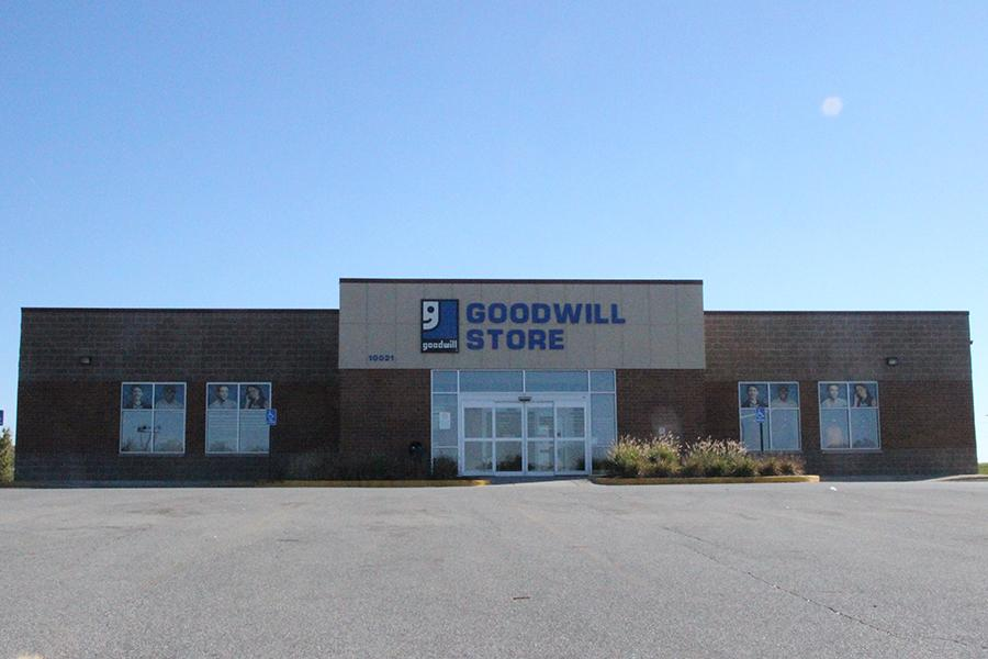 The+Goodwill+in+St.+John+stands+alone+in+its+structure.+Students+from+Lake+Central+have+gone+to+the+Goodwill+to+shop+for+basic+items.