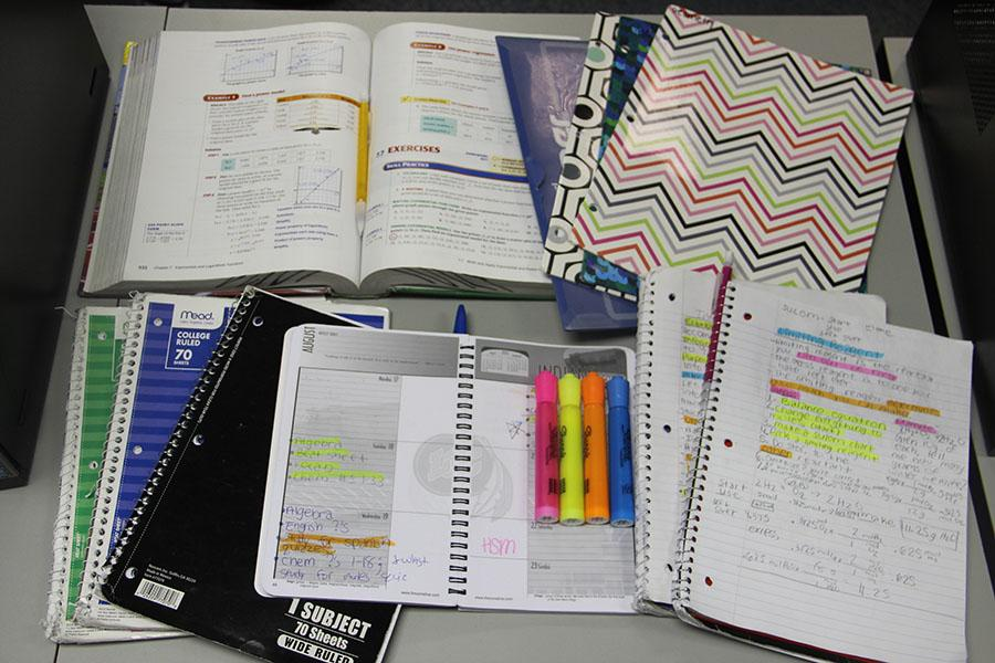 Labeling folders, notebooks and assignments is one way to stay on track for second semester. With second semester starting up now, students need to take action to excel the last half of the year.