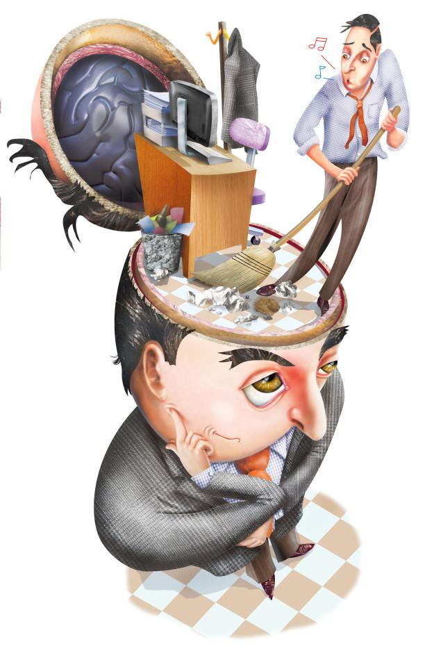 300 dpi Eddie Thomas illustration of man