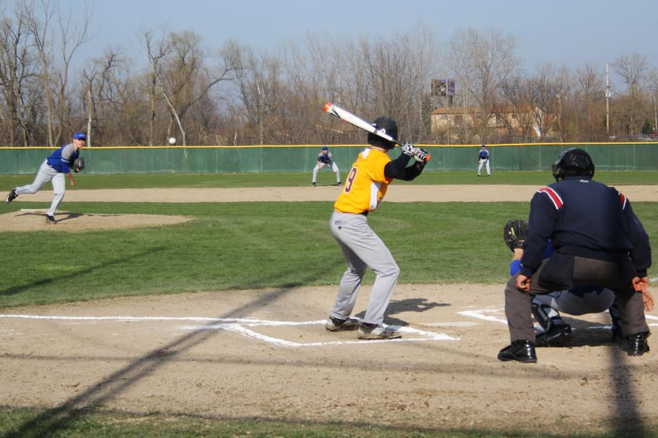 Cade Smith (9) pitches. This was the first pitch of the game.