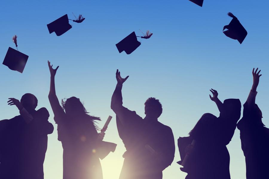 Graduation can be both exciting and scary. How do you navigate life after college? Here are some podcasts that can help. (Used with limited license: Fotolia)