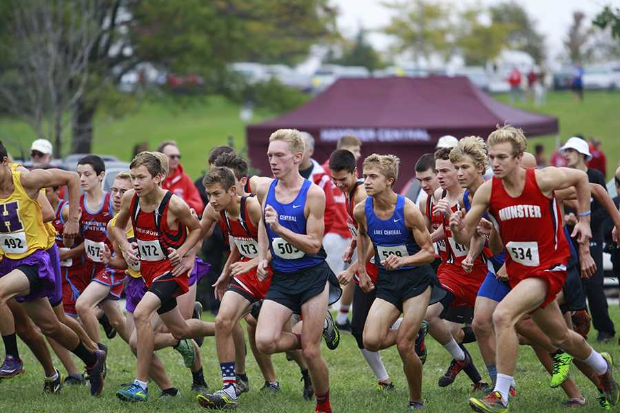 10/15/16 Varsity boys' cross country gallery