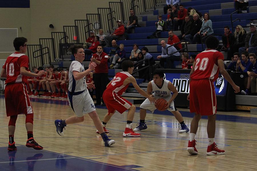 1/12/17 Freshman boys basketball gallery