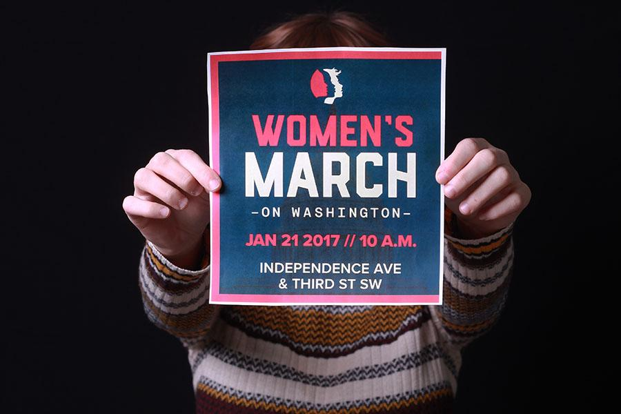 The Women's March on Washington will be held the day after the inauguration of President Elect Donald Trump. This march has branched out through the entire country, with 281 other marches being held on the same day. Photo by: Brianna Sarkisian (11).