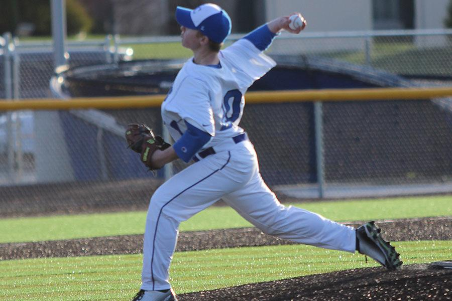 +Andrew+Vanmilligan+%2811%29+pitches+in+a+varsity+game+last+summer.++He+pitched+only+one+varsity+game+last+year+because+of+his+hurt+arm.