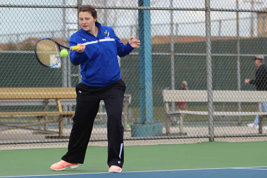 4/11/17 Varsity Girls Tennis Gallery