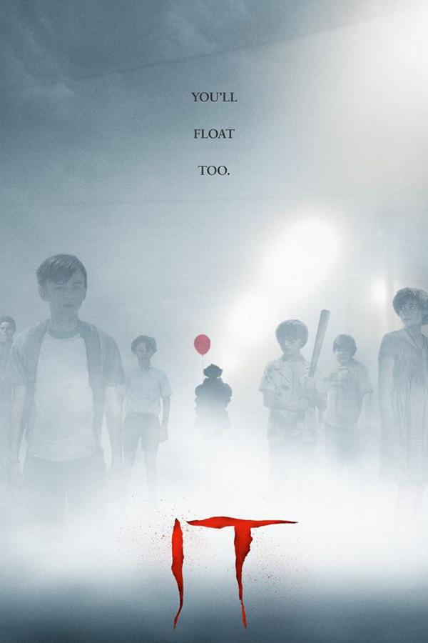 The+Losers+are+standing+off+to+the+side+covered+in+mist%2C+as+%E2%80%9CIt%E2%80%9D+stands+in+the+background+with+his+red+balloon.+It+was+released+in+theatres+on+Thursday%2C+Sept.+7.+Photo+credit+to+Pinterest.%0A%0A