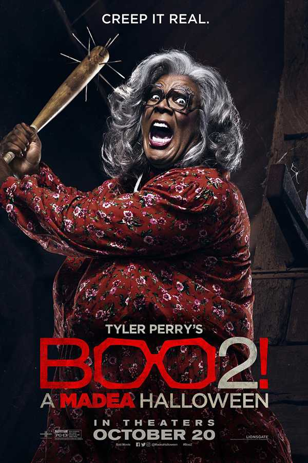Madea+is+holding+a+baseball+bat+and+ready+to+attack+any+of+her+attackers.+Boo+2+was+released+in+theaters+on+Friday%2C+Oct.+20.++Picture+credit+to+IMBd.++