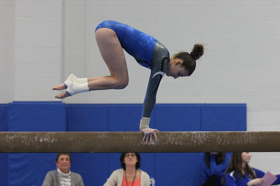 2/6/18 Girls Gymnastics Gallery