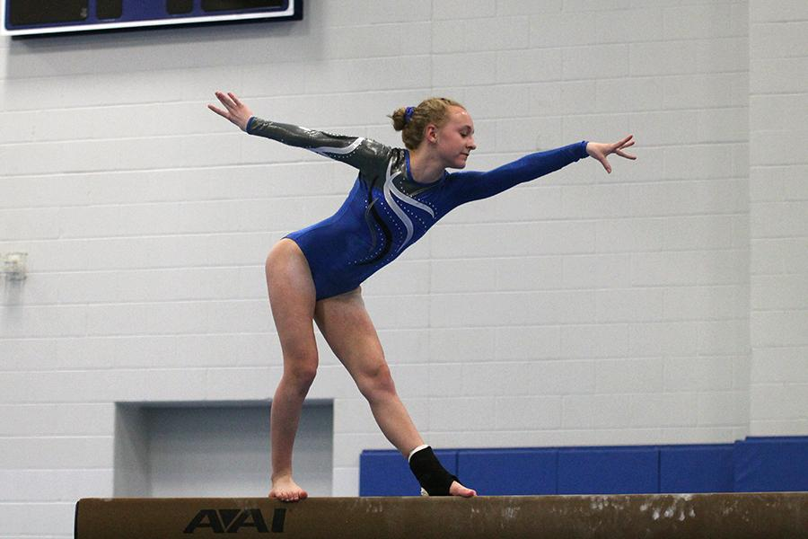 1/26/18 Girls Gymnastics Gallery