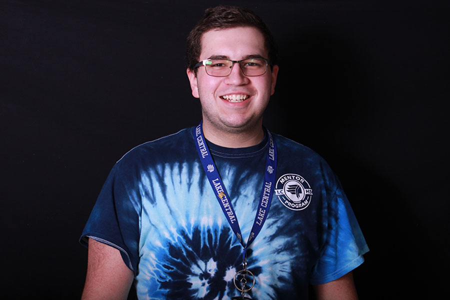 Tyler Forajter (12) is director of LCTV Productions. He has been director for two years.