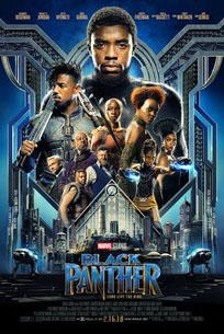 Black Panther released to theatres Feb. 16, 2018.  The movie had a budget of $200 million but has made $748.2 million as of Feb. 27, 2018.