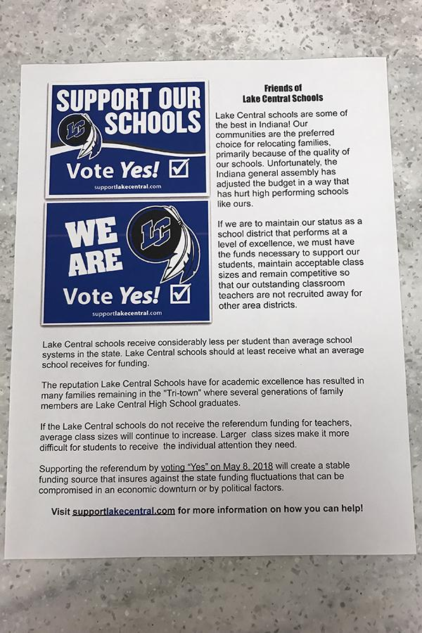 Supporters+were+given+these+flyers.+The+flyers+addressed+the+importance+of+the+referendum+and+its+effect+on+our+school+and+teachers.+%0A