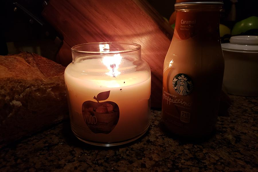 Students and staff receive too much stress from their daily lives, and fall break should provide some time to chill out. Chill Tip: use scented candles instead of house lights to create a dim, fall-like, atmosphere to relax a bit.