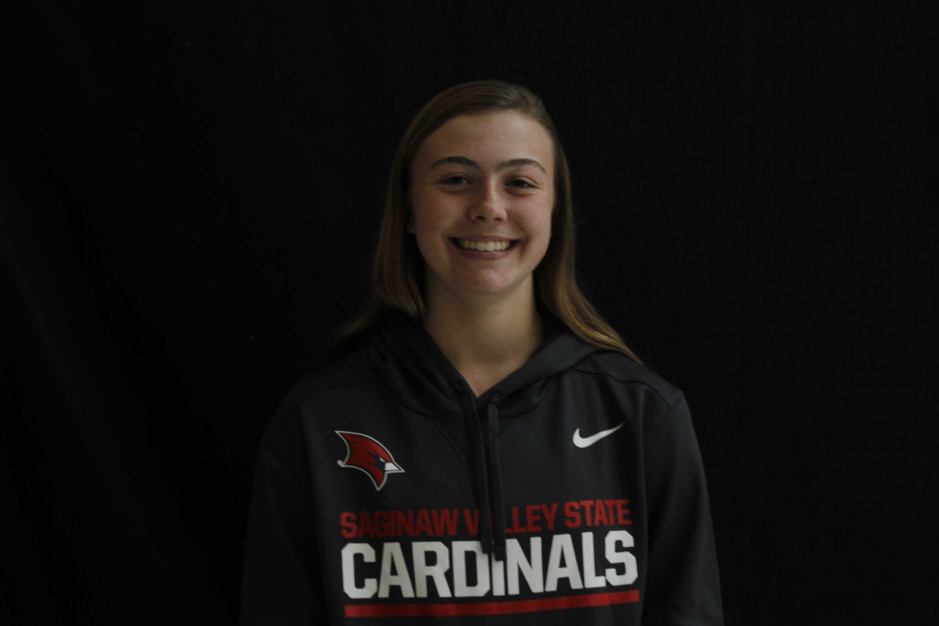 Darcy Barkauskas verbally committed to Saginaw State University. She plans to continue her softball career there