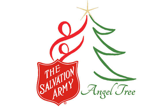 The Angel Tree is a program organized by The Salvation Army that matches up donated toys with needy children for Christmas. Anyone can donate by dropping off toys or money at designated drop off locations.