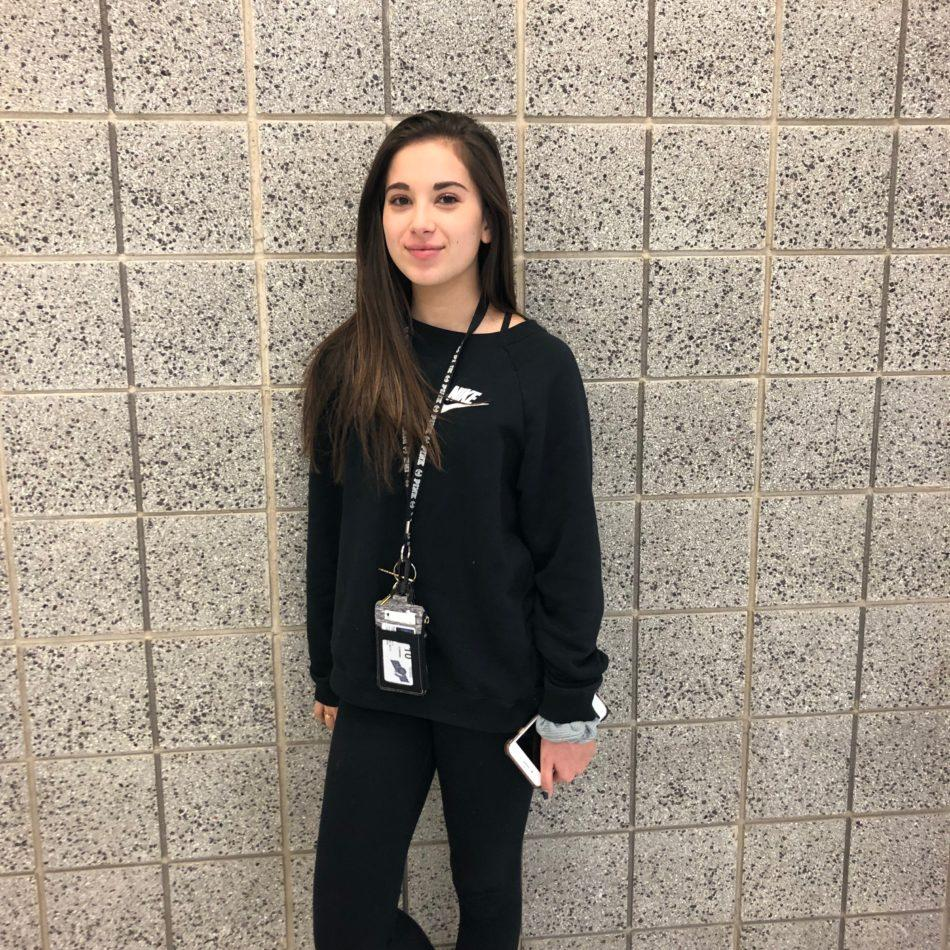 Ava Orueta (10) began peer mentoring at Lake Central this year. Along with peer mentoring, she also is in Lake Central's Best Buddies club.