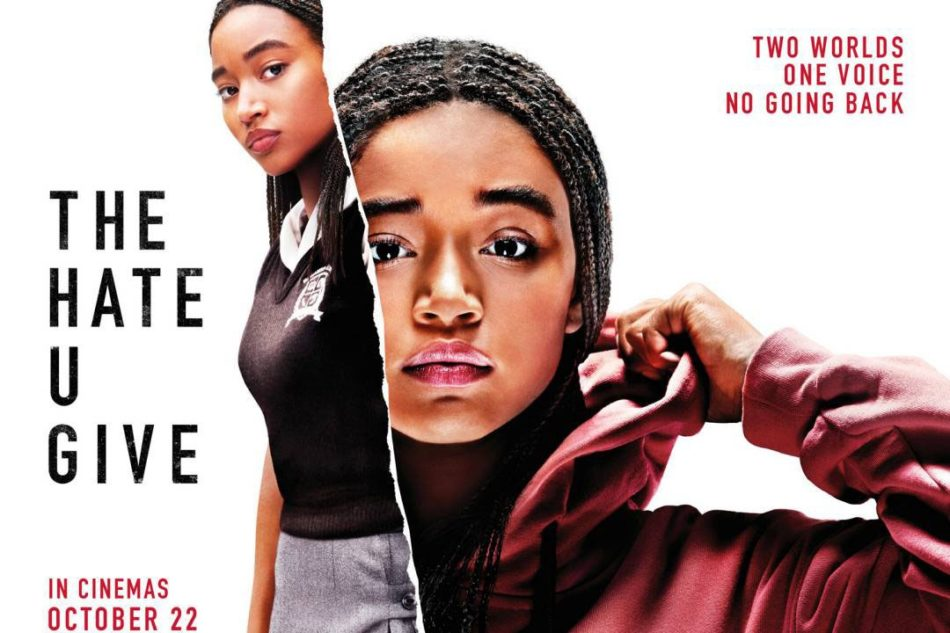 """The Hate U Give"" is about teenager, Starr Carter, trying to find her true voice. The main character is played by Amandla Stenberg. Image Source: Google"