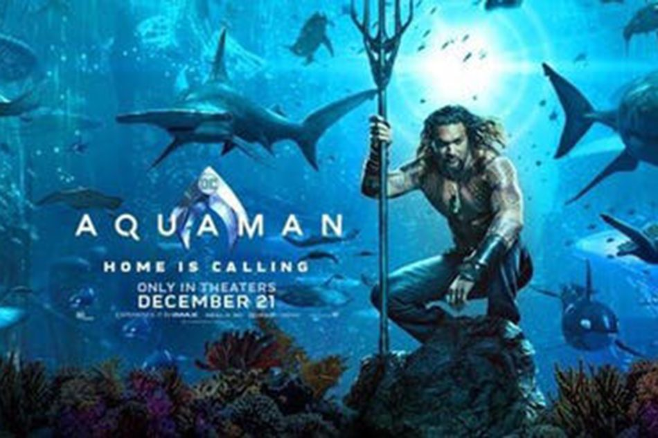 This is the main character of the movie, Aquaman. This photo depicted the seen of Aquaman saving Atlantis from the evil king.