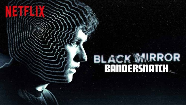 The cover of the Bandersnatch interactive film produced by Black Mirror. This film was released on Netflix on December 28, 2018.