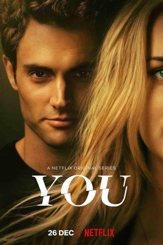 """You"" is a Lifetime and Netflix thriller. Starring Penn Badgley as Joe and Elizabeth Lail as Beck."
