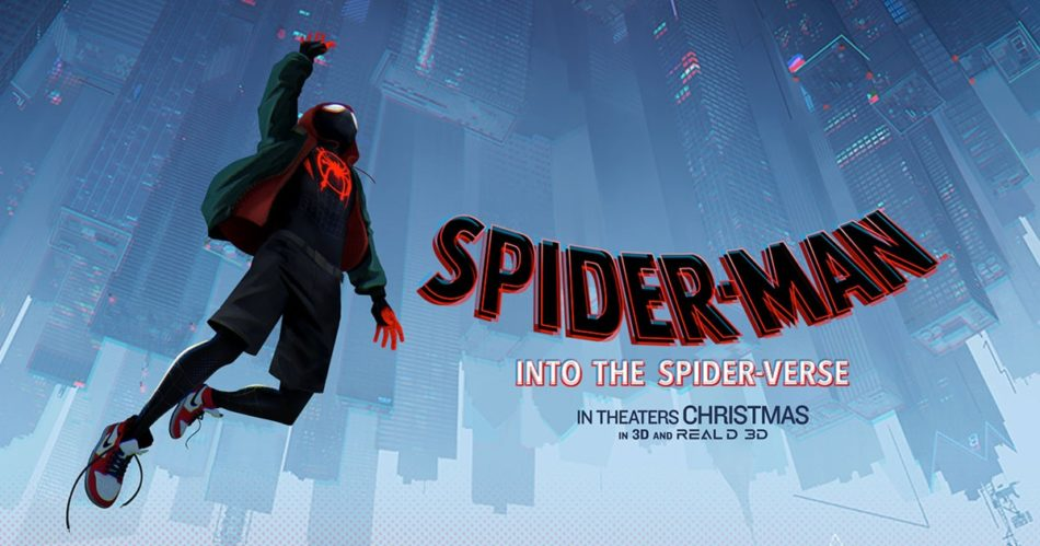Spider-Man: Into the Spider-Verse was released on Dec, 14, 2018 and has been nominated for the best animated movie. Picture from: http://www.intothespiderverse.movie/ .