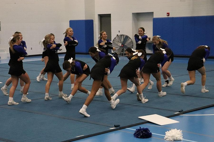 02/06/19 Varsity Cheer Friends and Family Night Gallery