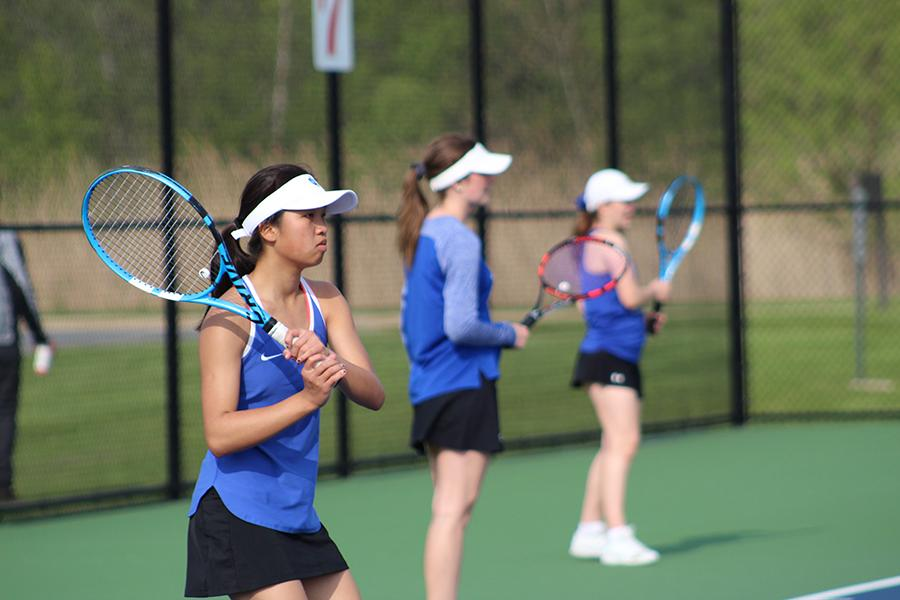 05/16/19 Girls Varsity Tennis Sectionals Gallery