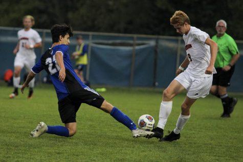 Varsity Boys' soccer goes head to head with Valparaiso