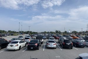 The red lot is the most popular lot at Lake Central.
