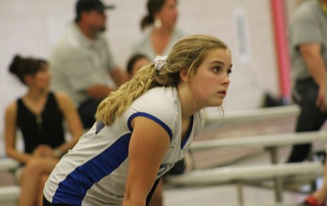 Freshman girls' volleyball team remains undefeated