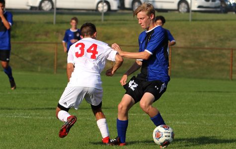 JV boys soccer lose to Munster halfway through season