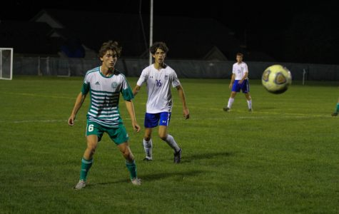 Varsity Boys' soccer goes head to head with Valparaiso