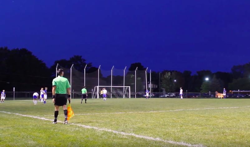 10/09/19 Varsity boys soccer vs. Highland