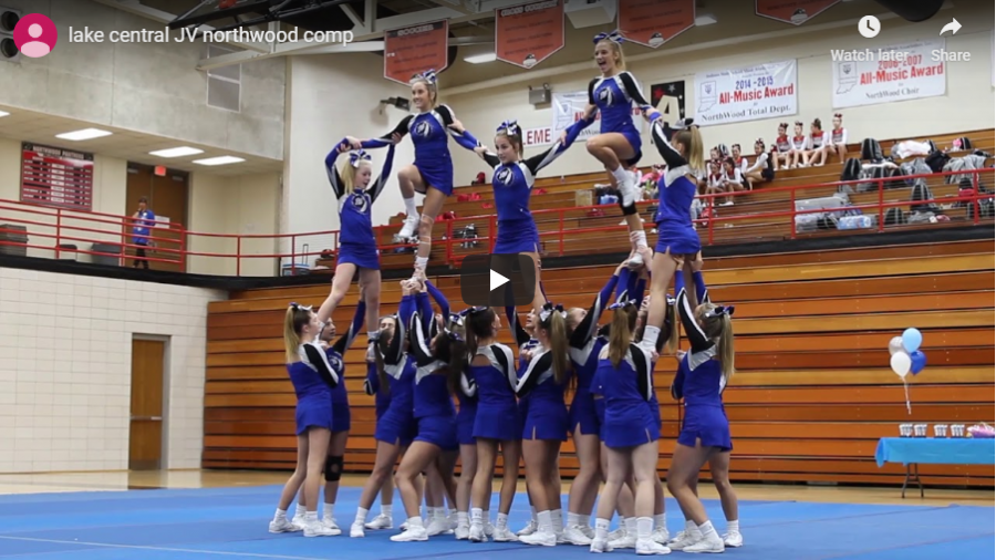 10/12/19 JV cheer Northwood competition